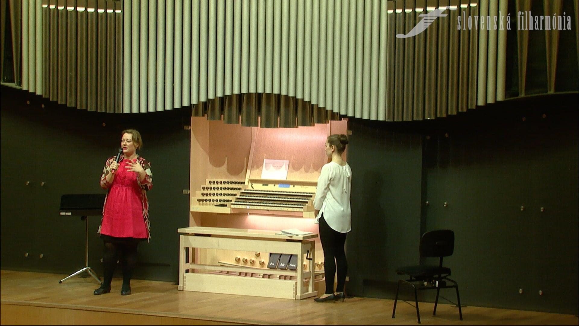 Organový recitál III – Monika Melcová