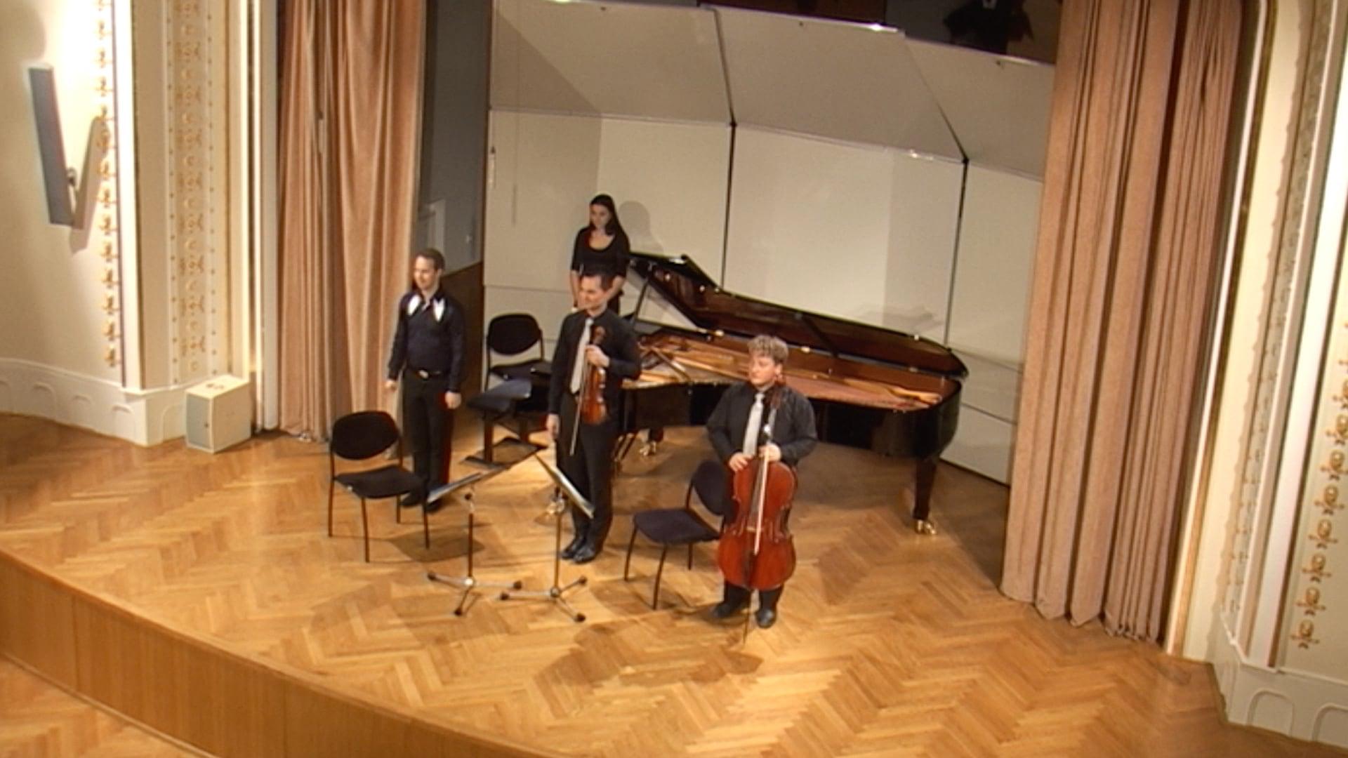 Debussy, Saint-Saëns, Fauré