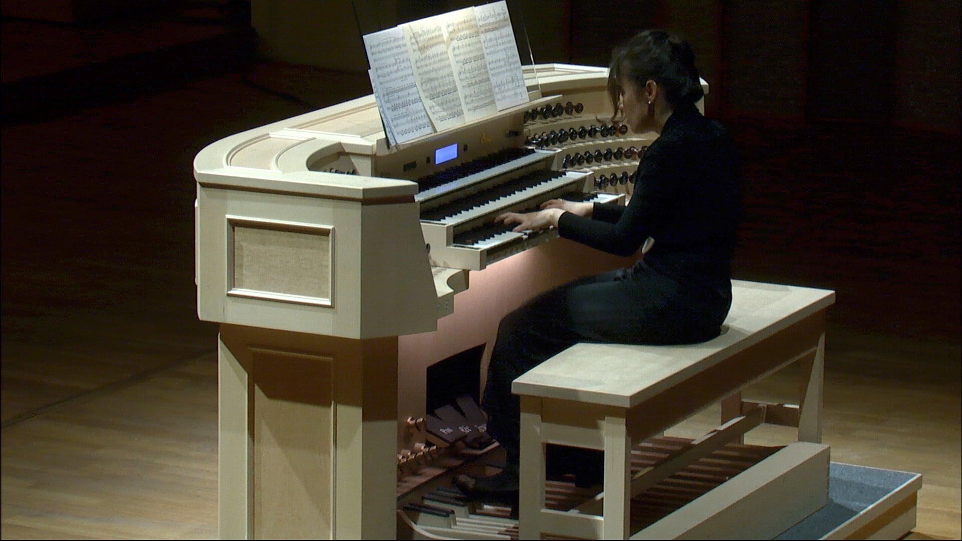 Organový recitál III. – Zuzana Ferjenčíková