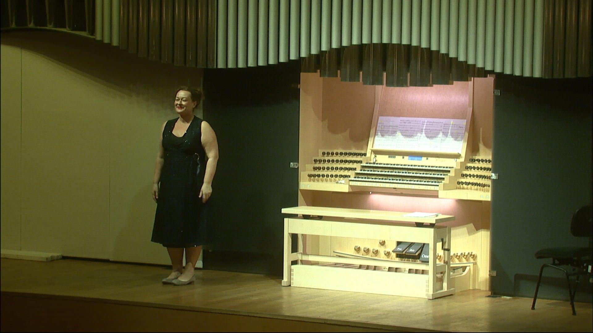 Organový recitál IV – Monika Melcová