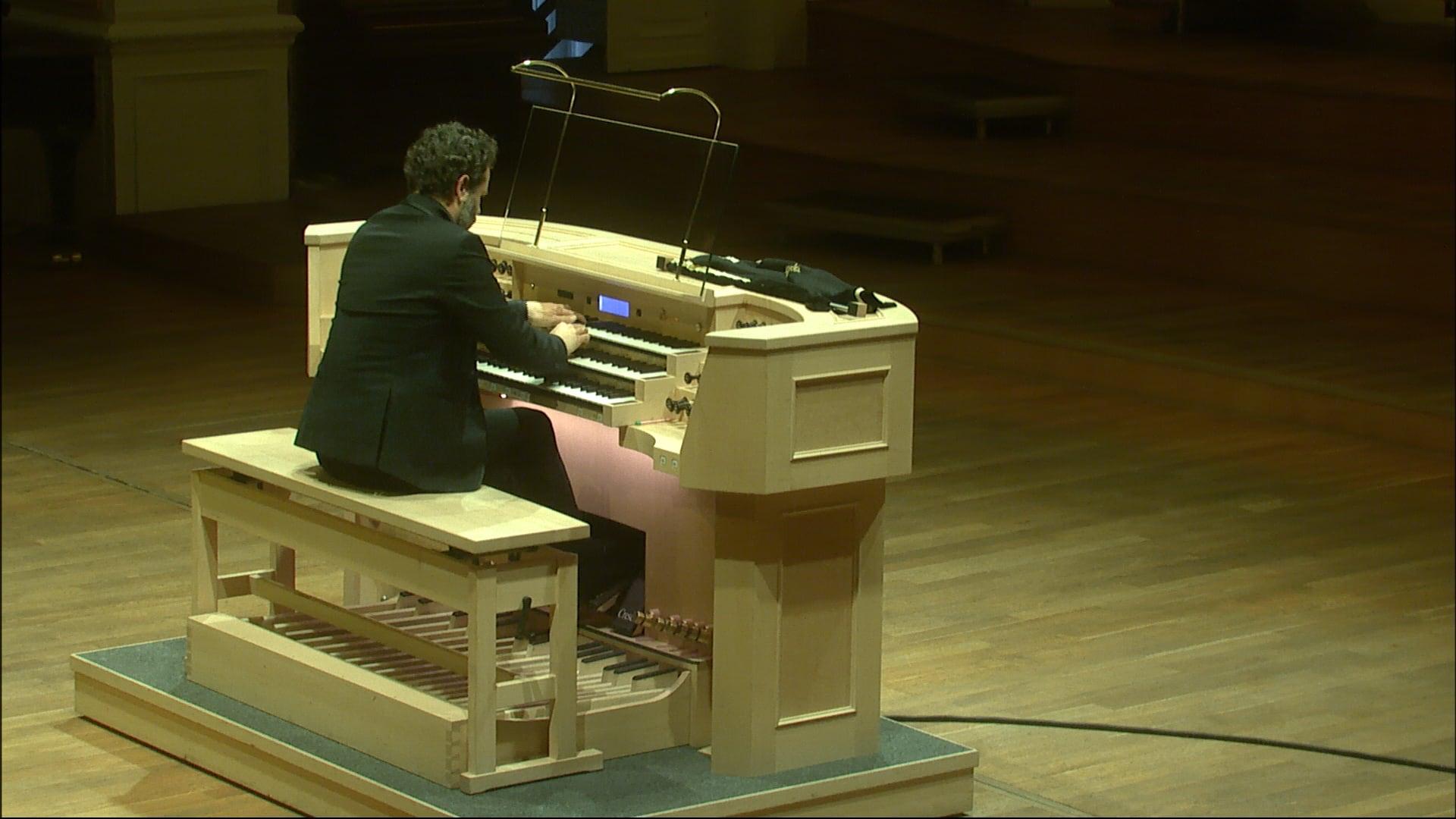 Organový recitál II – László Fassang