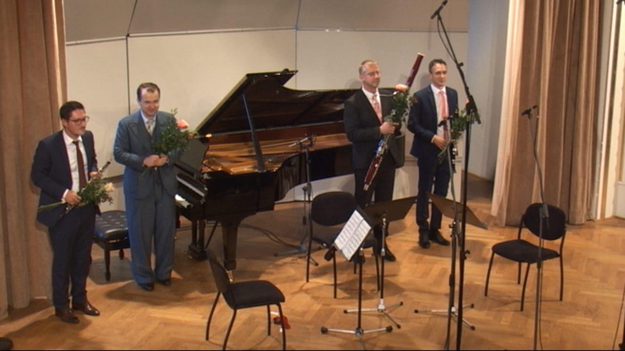 Komorný koncert z diel slovenských skladateľov pre dychové nástroje