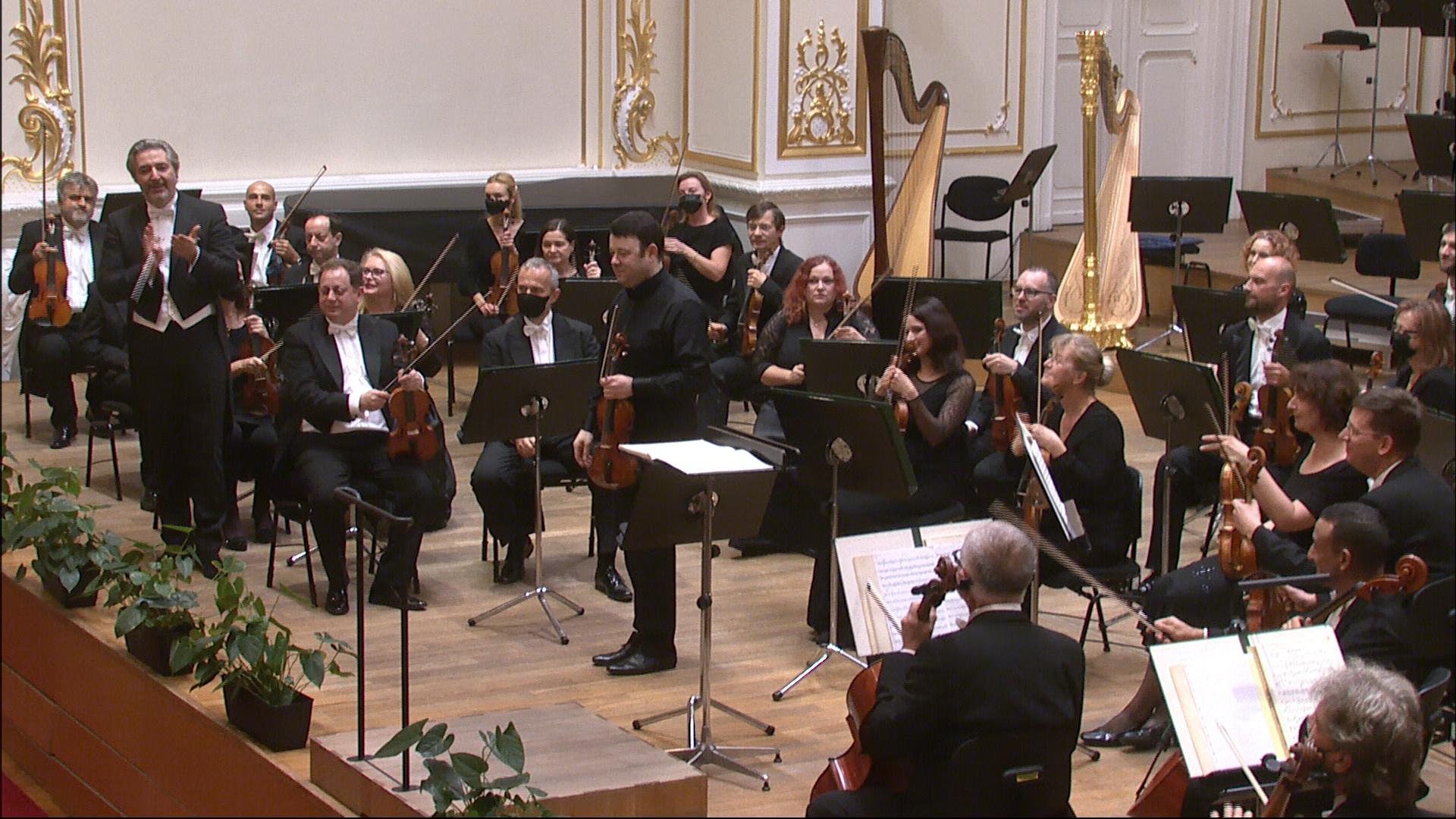 Otvárací koncert 73. sezóny Slovenskej filharmónie