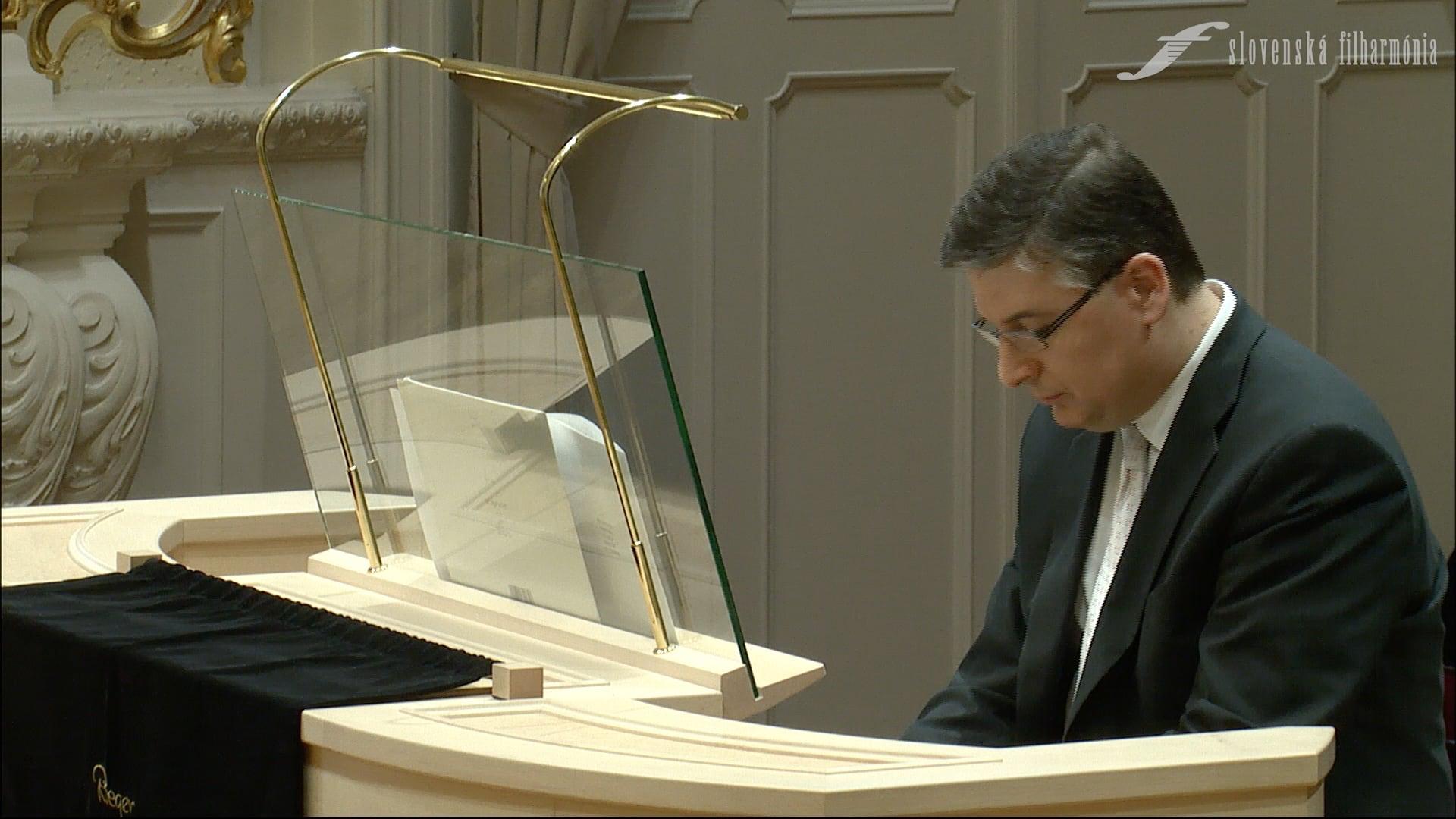Organový recitál II – János Pálúr