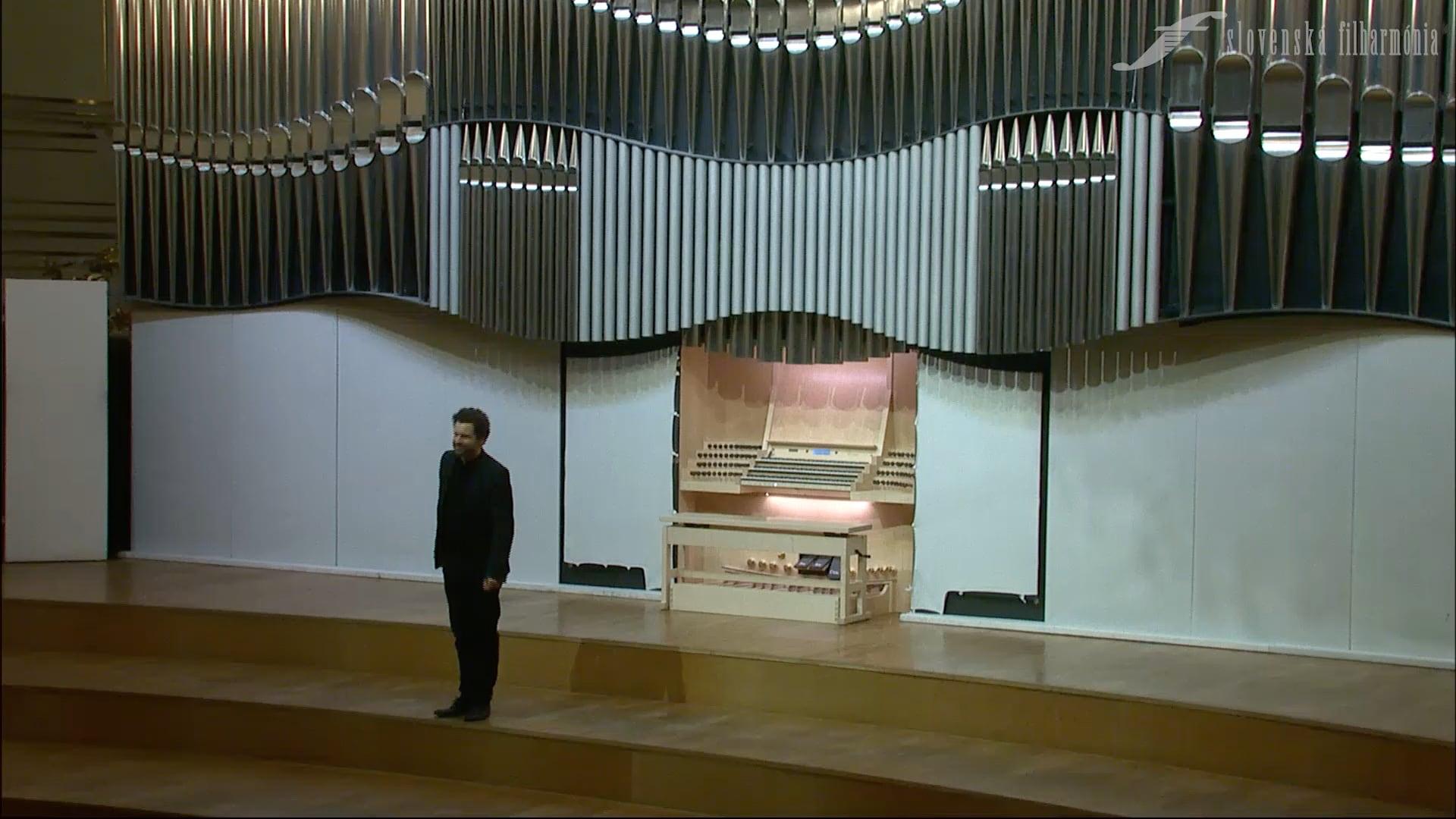 Bach a tanec, Organový recitál II – László Fassang