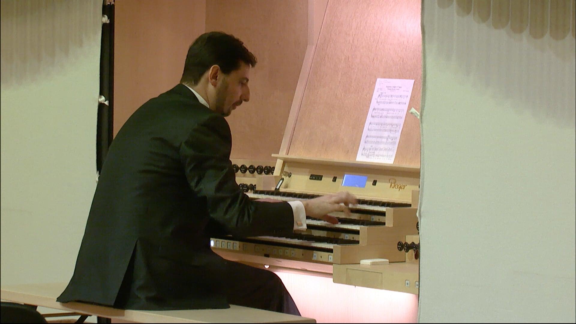 Organový recitál III – Marek Vrábel